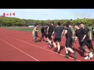 Chinese_soldiers_have_unique_way_of_training_for_war