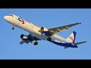 Пассажирский самолёт совершил жёсткую посадку на брюхо в Жуковском…