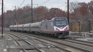 Amtrak & NJ Transit HD 60fps: Black Friday NEC Trains  Princeton Junction, Metropark, & Elizabeth