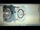 Магнитный мотор-Славянский вид в 3д