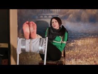 Зеленый шершень [ Foot fetish, Cosplay, Feet, Фут фетиш, Solo, Teen ]