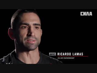 Fight night argentina  ricardo lamas - i am a dangerous finisher