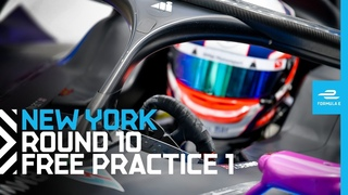 2021 ABB New York City E-Prix - Race 10 | Free Practice 1