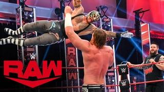 [#My1] Rey Mysterio & Kevin Owens vs. Seth Rollins & Murphy: Raw July 6, 2020