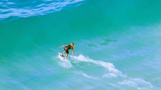 HOW TO CATCH WAVES ON A SKIMBOARD W/ 3X World Champion Blair Conklin