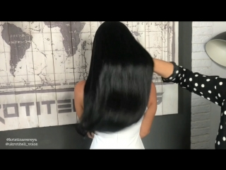 Укротители Волос, метод скрытого крепления волос InvisiFusion, холодная испанская технология