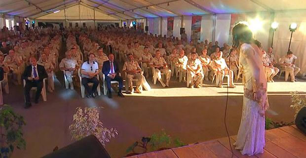 Звезды «Авторадио» дали большой концерт на базе Хмеймим в Сирии - Новости радио OnAir.ru