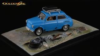 """Запорожец"" Джеймса Бонда ЗАЗ-965А / The James Bond Car Collection #36 / Universal Hobbies // 1:43"