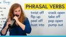 Learn 8 Phrasal Verbs for opening: pop open, peel off, flip up