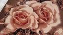 Розыгрыш набора Карамельные розы от ТМ Алмазная мозаика