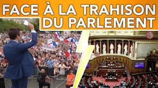 Pass sanitaire : soumission du Parlement et résistance massive !