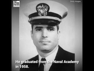 Arizona Sen. John McCain, a war hero who survived five years as a prisoner of war in Vietnam, served three decades in Congress a