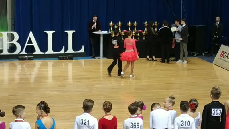 Бронзовыми призёрами Royal Ball 2020 стали Михаил Супрунович и Анна Бань