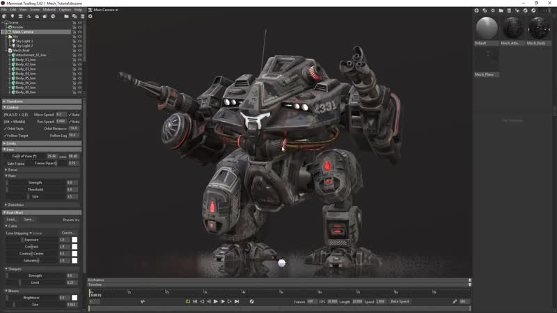 Marmoset Toolbag 3 - Portfolio ready renders