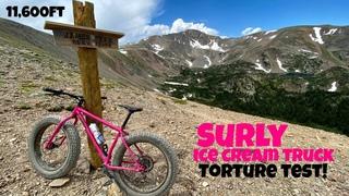 Surly Ice Cream Truck | Fat Bike Torture Test | Mammoth Gulch Colorado 11600ft