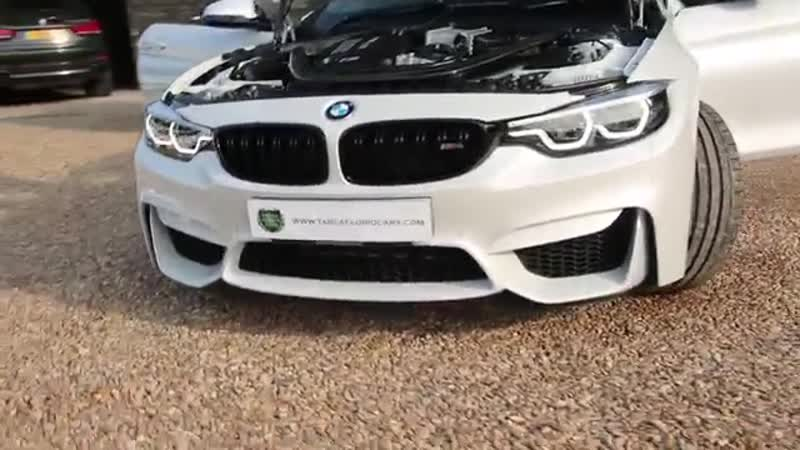 BMW M4 Competition Pack 2dr 3 0 DCT Automatic in Mineral White 2017