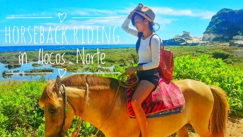 Horseback Riding Kapurpurawan Rock Formations Ilocos Norte Clr Acosta