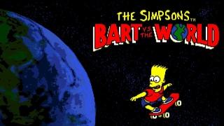 Cartoon - The Simpsons: Bart Vs. the World (Amiga)