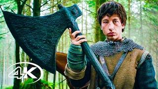 Легенда о Зелёном рыцаре 💥 Русский трейлер #2 4K 💥 Фильм 2021