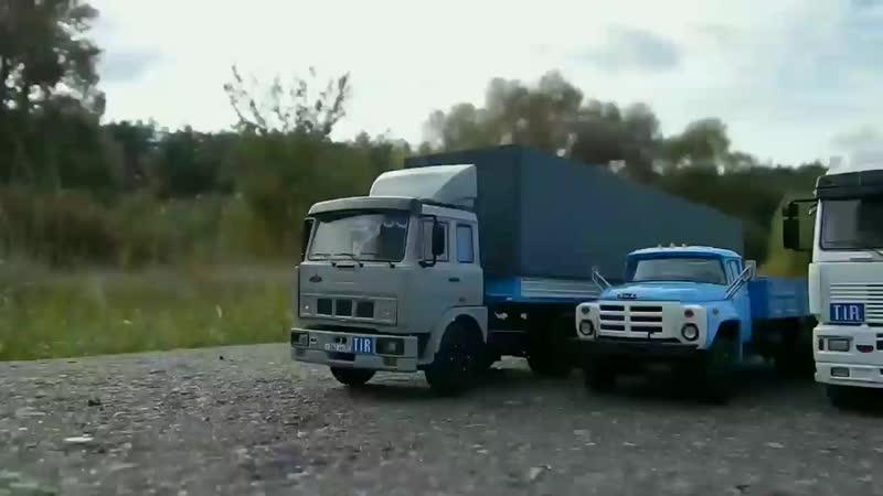 🚚🚔Гражданин Начальник погоня в масштабе 1 43 МАЗ mp4