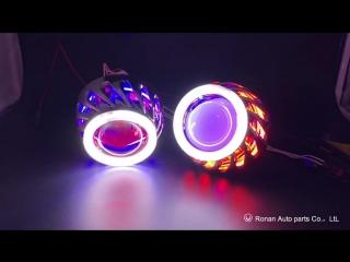 2.5 inch double ccfl bi xenon projector lens