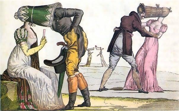 Иллстрация на тему «Тет-а-тет»