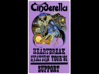 Cinderella - In Concert - Heartbreak Station Tour 91 (- Live Detroit 1991)