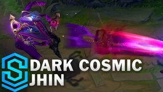 Dark Cosmic Jhin Skin Spotlight - Pre-Release - League of Legends