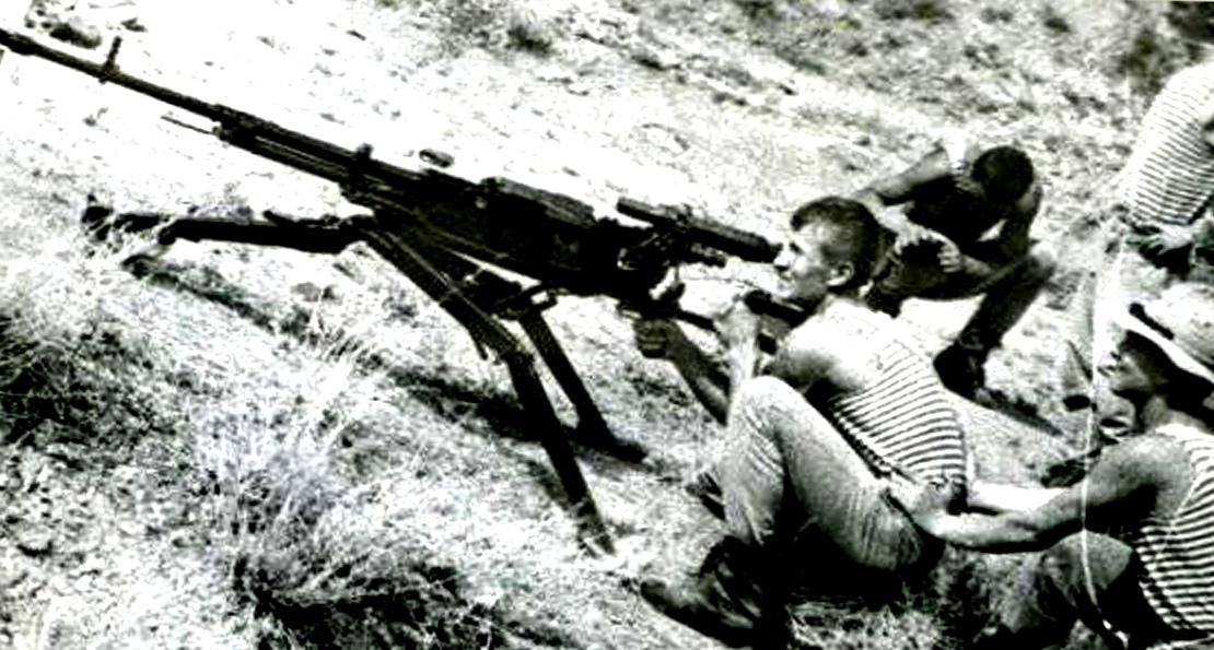 Пулемет Владимирова в Афганистане