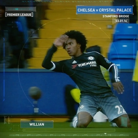 """Chelsea FC on Instagram A worldie from @willianborges88 in the CFCArchive 🎞☄️ Remember this one Blues TBT CFC Chelsea"""""""