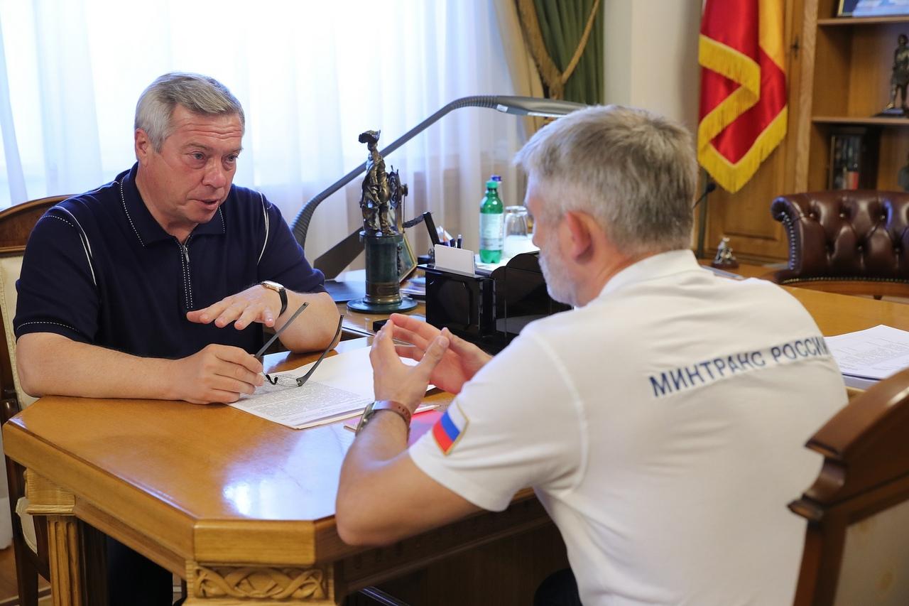Губернатор Василий Голубев: «Мы ускоряем строительство Ростовского транспортного кольца»