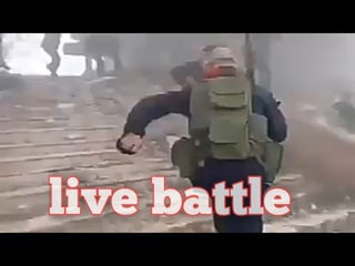 😳Intense Live battle | Russian special forces advising Syrian army in live battlefield| fighting