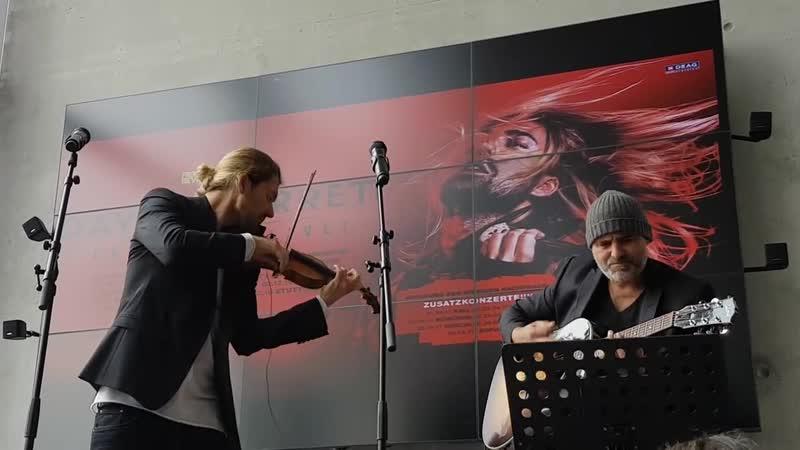 David Garrett and Marcus Wolf live in Offenburg 2016