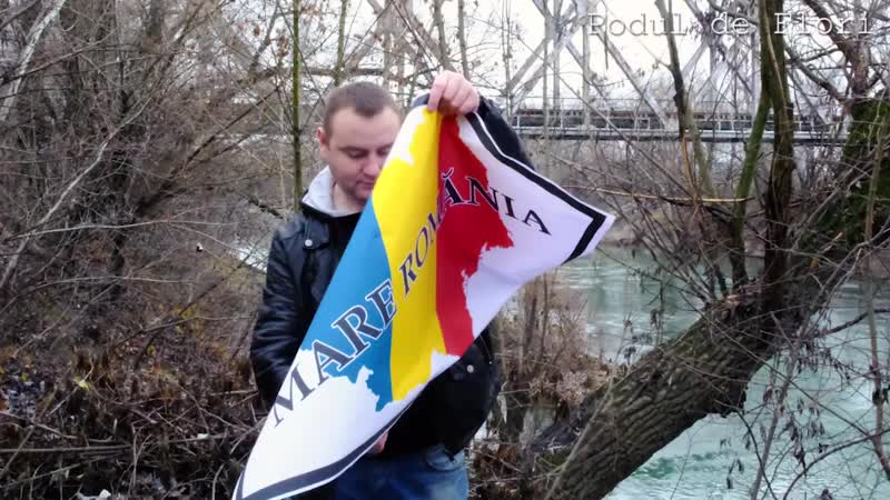 Лидер молдавской партии Наши поджег карту Великой Румынии во время визита президента Клауса Йоханниса в Кишинев