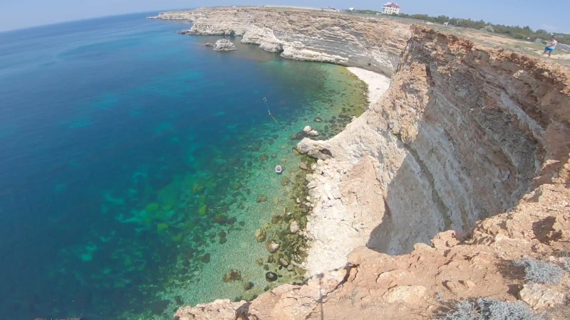 Rope Jumping Крым, Мыс Фиолент 45м
