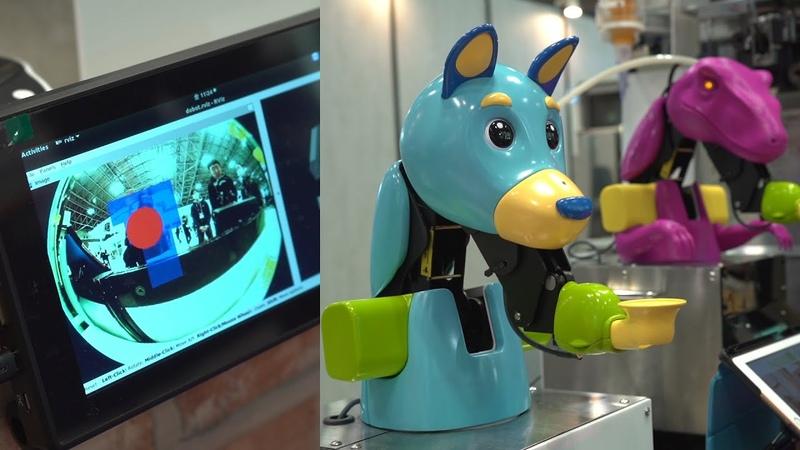 2020ver ソフトクリームロボット「レイタくん」システム概要 #ロボット#調理#ソフトクリーム