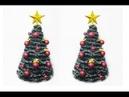 DIY Большая ёлка своими руками. Мастер класс. Large tree video tutorial