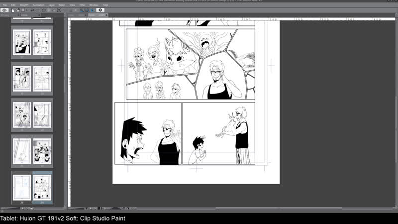 Draw manga/Рисую мангу