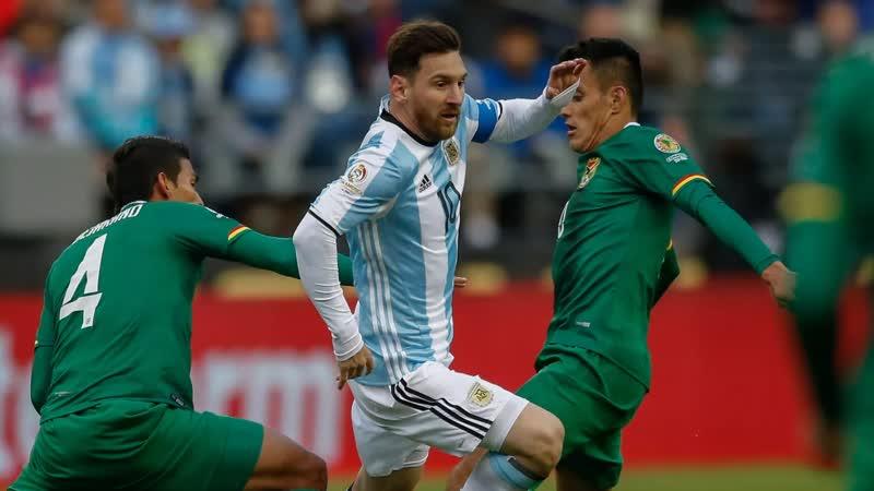 Отборочные матчи ЧМ по футболу Боливия Аргентина