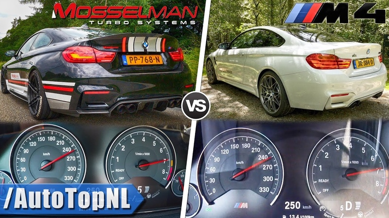 BMW M4 Competition 450HP vs 620HP BMW M4 Mosselman ACCELERATION SOUND POV by AutoTopNL