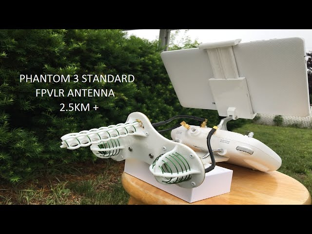 PHANTOM 3 STANDARD 2 5 KM 8202 FT W FPVLR ANTENNA